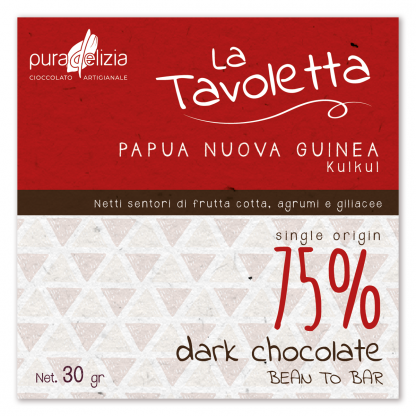 tavoletta papua nuova guinea 30 g